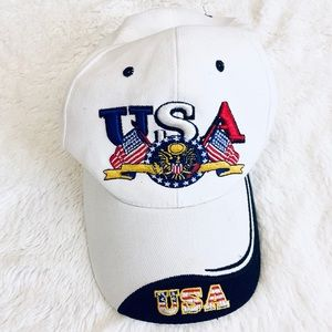 🌸USA American Flag Eagle baseball hat